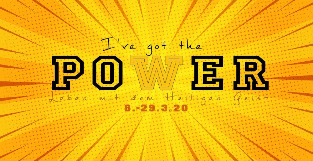 I\'ve got the power